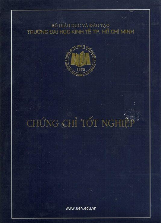 Chứng chỉ Đại học Kinh Tế TP.HCM