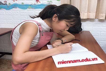 Khóa học Luyện viết chữ đẹp tại Bình Thạnh – TPHCM
